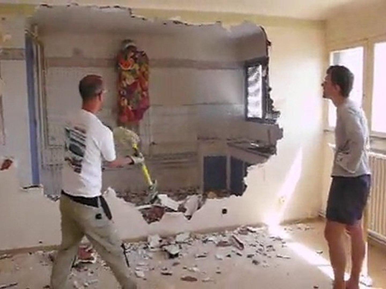 Casser Une Cloison En Brique casser le mur de la cuisine