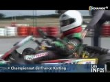 Championnat de France karting à Gréville-Hague