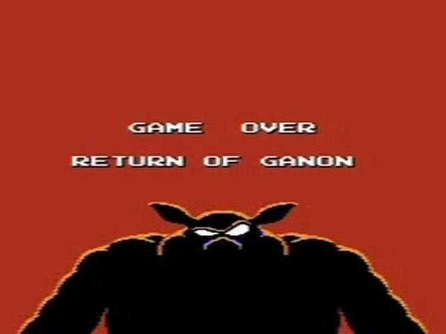 Game Over Return Of Ganon My Version