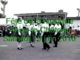 Groupe de danses Anizy       Fête de la musique 19 juin 2010
