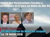 L'Origine des Persécutions fiscales & anti-catholiques (4/5)