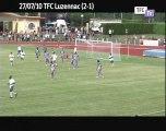 TFC-Luzenac: Résumé du match
