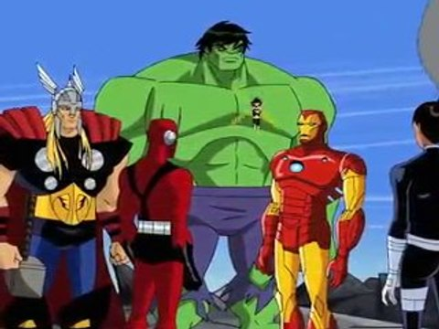 The Avengers: Earth's Mightiest Heroes Animated Trailer