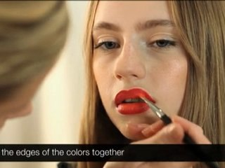 StyleCaster Presents How to Get a Velvety Red Lip