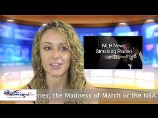 MLB – Washington Nationals Baseball Puts Stephen Strasburg