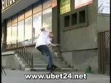 Extremer Skater Unfall *nichts fur schwache Nerven