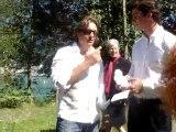 1er août lancement de Swiss-cola avec Mister Suisse 2010 !