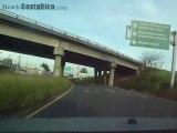 Driving from San Jose to Juan Santamaria Airport Costa Rica