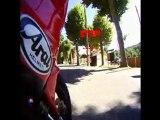 Ballade moto au lac de Quinson