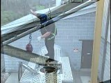 Freestanding Cantilever Fall Protection / Fall Arrest