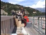 saut à l'élastique pont de Ponsonnas