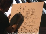 Master Class Hiro Mashima (Fairy Tail) à Japan Expo 2010