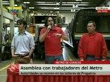 Garces asamblea trabajadores metro