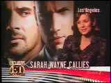 Wentworth Miller and Sarah W Callies on ET Canada
