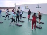 RIP Fitness at  La Santa Lanzarote - Step aerobics routine
