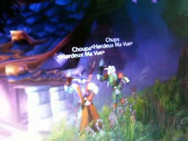 WoW/ Choupa et Chups sur Open Wow