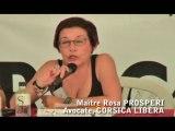 Intervention de Rosa PROSPERI Ghjurnate Internaziunale 2010