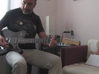 Présentation et essai de la T Wave Sen de Magneto Guitars