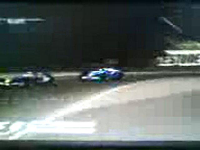 Formula One 2005 crash Villeneuve