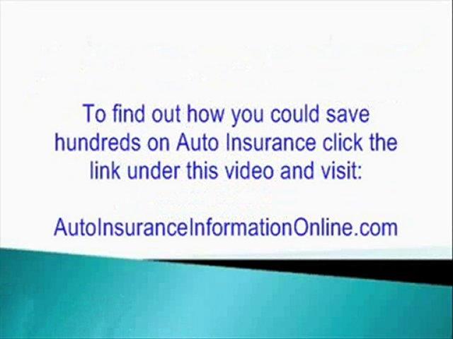 Auto Insurance Comparisons – Find Cheap Auto Insurance Rates