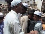 Flood victims in Pakistan take shelter in camps
