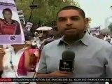 Marchan en silencio periodistas mexicanos para exigir cese a
