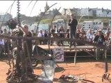 nuit des soudeurs 2010 à Granville : la vente aux enchères