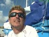 050810Arrivée de JP Dick à bord de Virbac-Paprec 3 à Lorient
