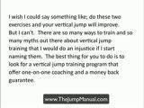 Increase Vertical Jump Program-How to improve vertical jump