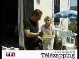 Télézapping : Nicolas Sarkozy et les beignets de Ginette