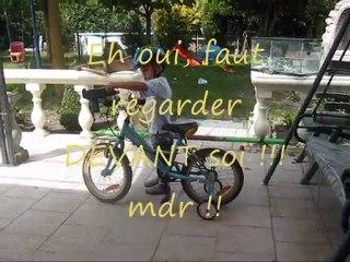 Kélyan apprenti cycliste