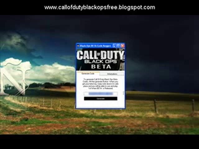 Call of Duty Black Ops Beta Codes (Free Download Codes)
