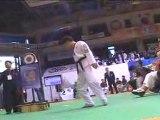 taekwondo compétition vétéran casse planche tuio tchagui