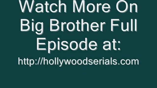 Watch Big Brother US - Season 12 Episode 16 Full serials