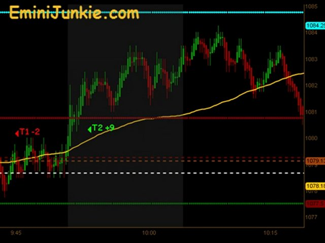 Learn How To Trading ES Futures from EminiJunkie August 13