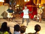 Combat à l'épée aux médiévales de La Garde 2010