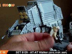 LEGO AT AT Walker Review LEGO 8129 Review