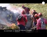 Fighting wildfires in Portugal - no comment
