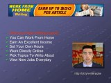Real Writing Jobs, Get Paid To Write Articles