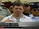 Santos: Podríamos llevar al Congreso acuerdo militar con EE