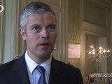 Le Puy-en-Velay - Interview Laurent Wauquiez