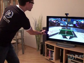 PlayStation Move : Démonstration du ping-pong de