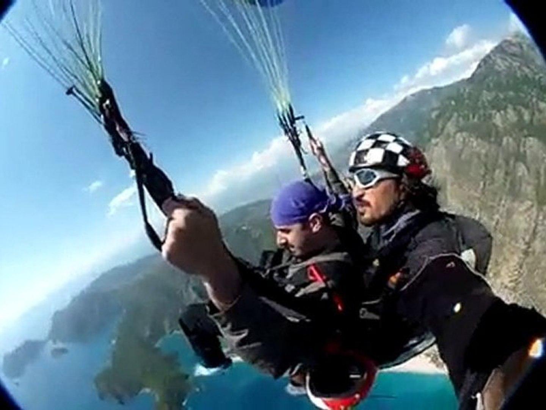 Bay đôi Tandem paragliding, bay đôi dù lượn