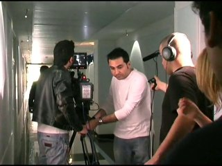 Back-stage Short SCACCOMATTO directed by Carlo Fumo