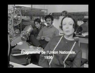 Programme de l'Union Nationale (1936)