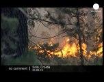 Fires threaten tourist resorts in Ibiza - no comment