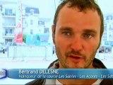 "Bertrand Deleins, vainqueur de la course ""Les Sables les Açores"""