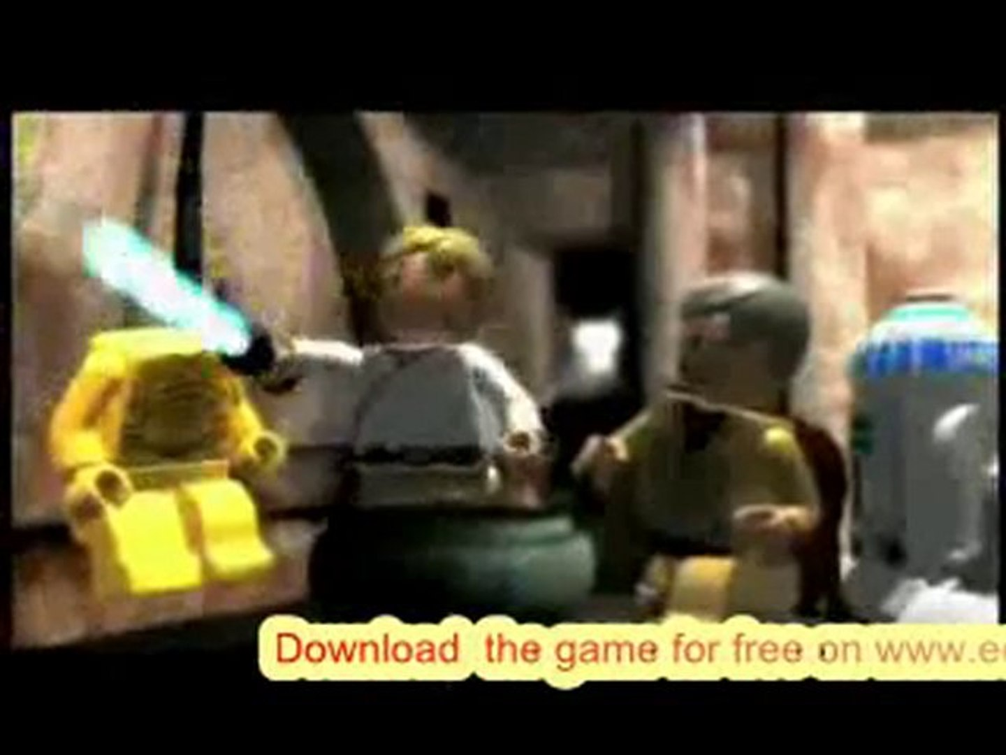 LEGO Star Wars 3 The Clone Wars psp Gameplay Free Game