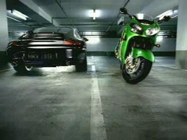 Kawasaki Motorcycle Commercial