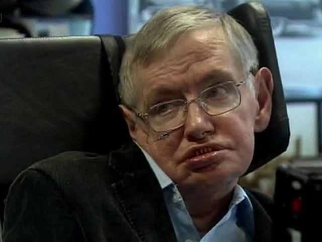 Richard Dawkins visits Stephen Hawking
